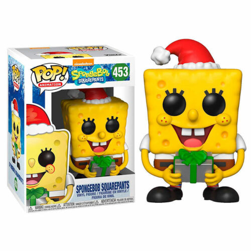 SANTA Spongebob Squarepants 3.75 POP Figura in Vinile FUNKO 453 Nickelodeon