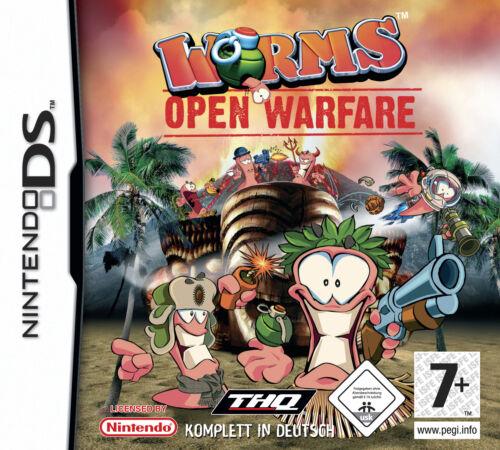 1 von 1 - Worms: Open Warfare  Kostenloser Blitz-Versand! (Nintendo DS, 2006)