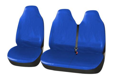 2+1 Auto Kunstleder Sitzbezüg Schonbezüge Blau für Ford Iveco Mercedes Benz