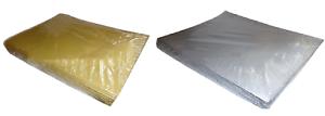 Metallic 90cm x 90cm Paper Table Cover   Slip Cloth
