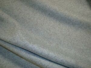 5-9-yds-Heavy-WOOL-FABRIC-Melange-UPHOLSTERY-COAT-22-oz-Aqua-Gray-58-034-x-213-034-BTP