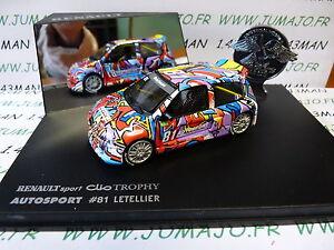 G-voiture-1-43-Universal-Hobbies-eagle-collectibles-CLIO-TROPHY-81-Letellier