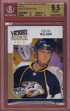 COLIN WILSON ROOKIE 2009-10 UPPER DECK VICTORY GOLD RC BGS 9.5 W/10 RC UD 09-10