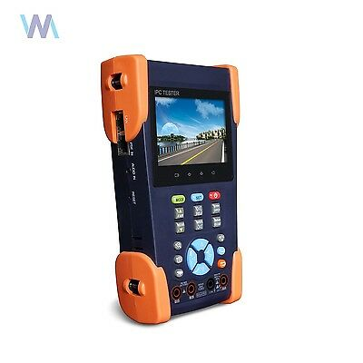 CCTV Tester 3.5/'/' Touch Screen 1080P ONVIF IP Analog camera tester Monitor Netwo