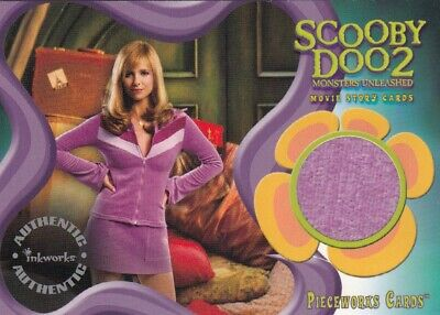 Scooby Doo 2 Monsters Unleashed Sarah Michelle Gellar As Daphne Pw9 Costume Card Ebay