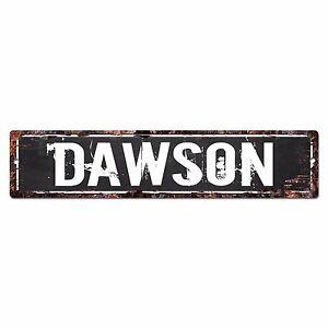 SLND0355 DAWSON MAN CAVE Street Chic Sign Home man cave Decor Gift
