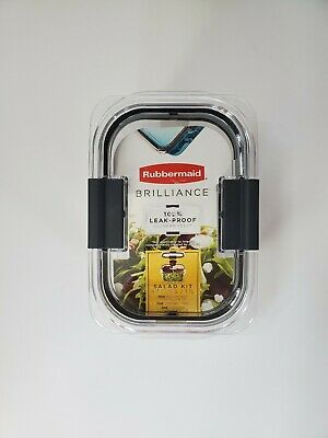 Rubbermaid Brilliance Food Storage, Leakproof Container ...