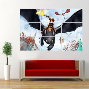 Image Is Loading How To Train Your Dragon Toothless And Poster