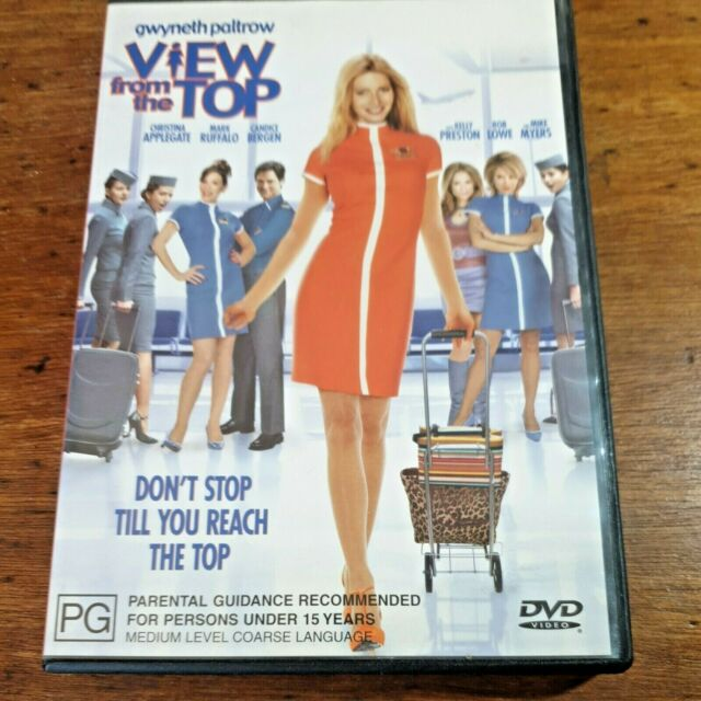 View from the Top DVD R4 FREE POST Mark Ruffalo Gwyneth Paltrow