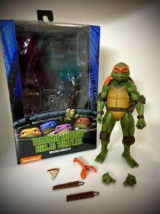 NECA Teenage Mutant Ninja Turtles TMNT Movie Michelangelo Loose