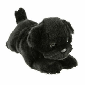 BOCCHETTA-PUG-DOG-Puddles-Puppy-28cm-black-plush-soft-toy-NWT