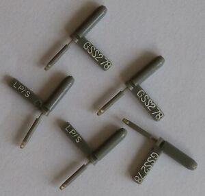 5-Stueck-5-pieces-Stereo-amp-78er-Saphir-Wendenadeln-GARRARD-GSS2