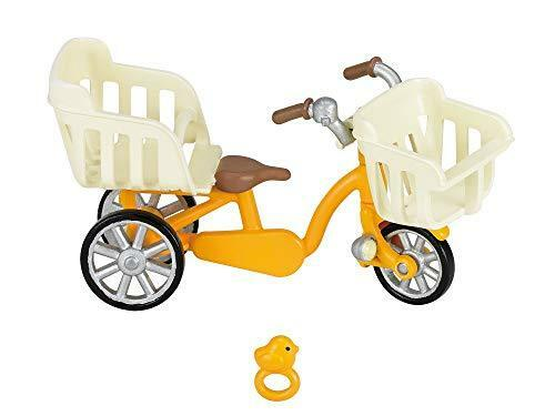 Sylvanian Families Calico Critter KA-625 Three-seater bicycle 87304 JAPAN