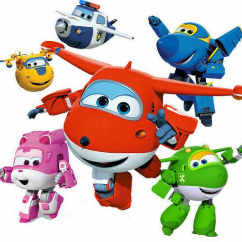 Charakter Jerome Roboter Spielzeug DEgroße Jett Verformung SuperWings MIra Dizzy
