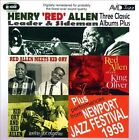 "Three Classic Albums Plus: Red Allen Meets Kid Ory/We've Got Rhythm/Red Allen Plays King Oliver by Henry ""Red"" Allen (CD, Mar-2012, 2 Discs, Avid Jazz)"