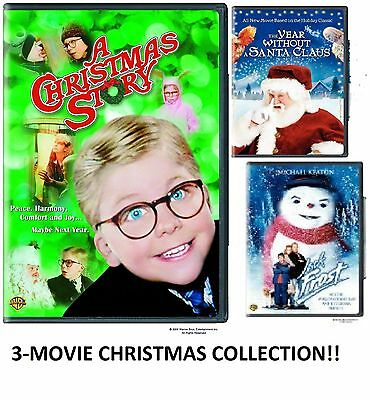 """A CHRISTMAS STORY (FS)"" + 2 EXTRA XMAS MOVIES - **BRAND NEW DVD COLLECTION **"