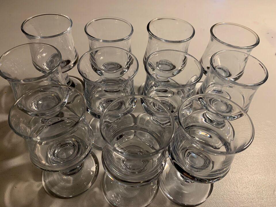 Glas, Likørglas, Holmegaard skibsglas