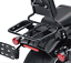 Black Sport Luggage Rack For 18-later FLFB FLFBS FXBR Holdfast Sissy Bar Upright