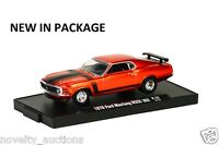 M57 11228 22 M2 Machine Auto Drivers 1970 Ford Mustang Boss 302 1:64