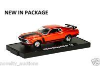 M57 11228 22 M2 Machine Auto Drivers 1970 Ford Mustang Boss 302 1:64
