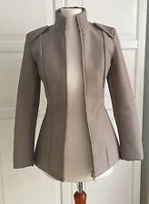 Maison Martin Margiela Cut Out Jacket Jacke beige EUR Größe 34 size US 4 UK 8