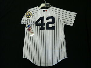 competitive price 81118 4622a Details about Authentic Mariano Rivera New York Yankees YOUTH Retirement  Jersey w/Patch Small