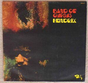 Jimi Hendrix LP Band Of Gypsys 1970 Barclay 0920 221 VG+++/NM