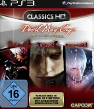 PlayStation 3 Devil May Cry 1 + 2 + 3 HD Collection Edition alemán impecable
