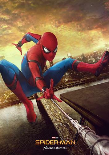 SPIDERMAN Marvel DC Homecoming Avengers Civil War Spider-Man Print Poster A3 A4