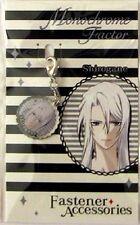 Monochrome Factor Shirogane Fastener Metal Charm Anime Manga Game MINT
