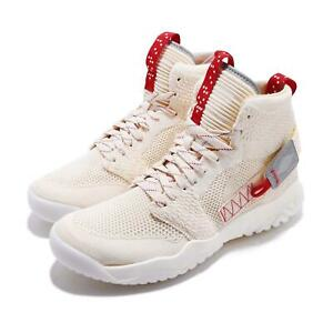 4b6096081564f9 Nike Jordan Apex-React Light Cream Sail Red Flyknit Men Shoes ...