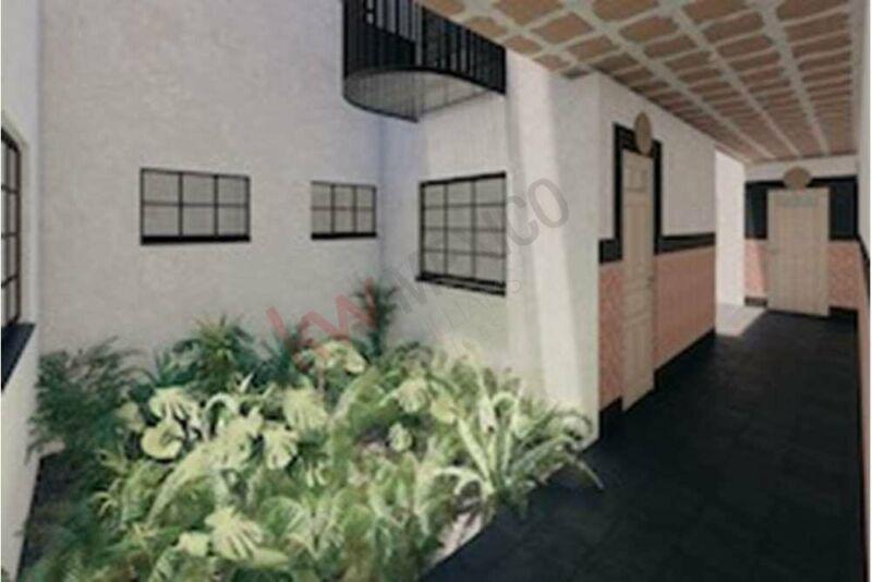 Penthouse, vista interior, terraza y balcón. PREVENTA. Escandón, Miguel Hidalgo