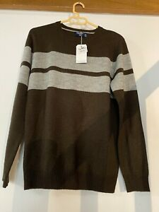 Pull Springfield Acrylique Et Laine Taille S Neuf