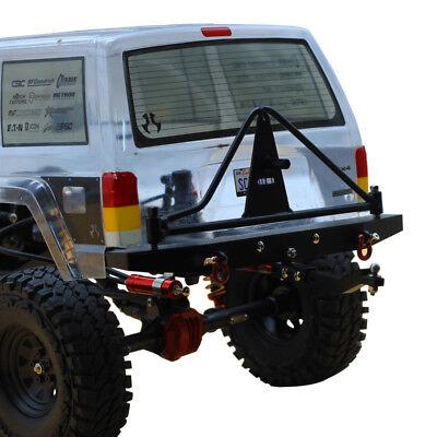 Metal Rear Bumper Protective frame guard rail 1//10 axial Jeep SCX-10II AX90046