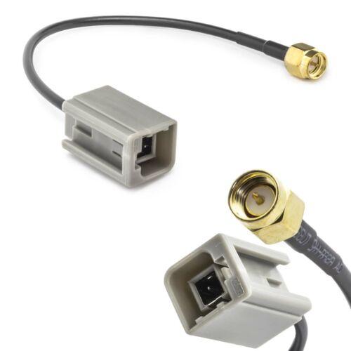 Stecker Kabel GSM GPS DAB Auto KFZ Antennen Adapter GT5 Stecker auf SMA M M