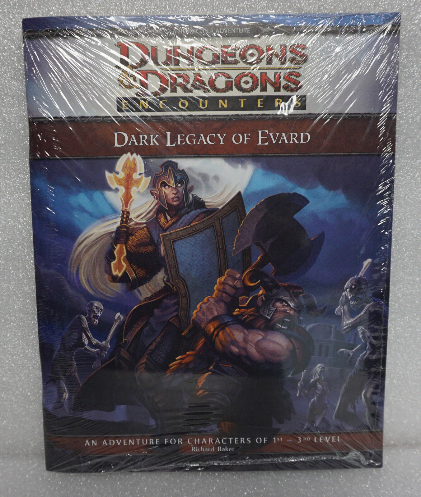 Dungeons &  Dragons D&D Dark Legacy of Evard 1st-3rd  Level  molte sorprese