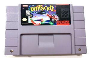 Uniracers-Super-Nintendo-SNES-Original-Game-Tested-Working-amp-Authentic