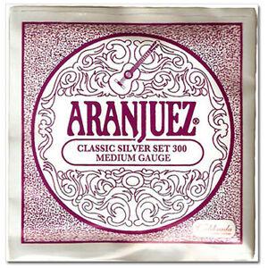 Aranjuez classical guitar strings Classic silver set Medium Gauge 300