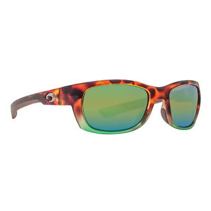 bc9ca4be4c724 NEW Costa Del Mar Trevally GT77OGMP Matte Tortuga Fade Frame  Green ...