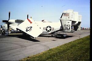 4-400-2-Grumman-C-2-Greyhound-United-States-Navy-2143-JM-Kodachrome-SLIDE