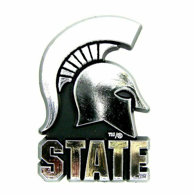 Michigan State Spartans 3D License Plate Frame