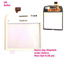 Nokia E6 Digitizer Front Glass Repair Touch Screen Panel Replacement White +tool