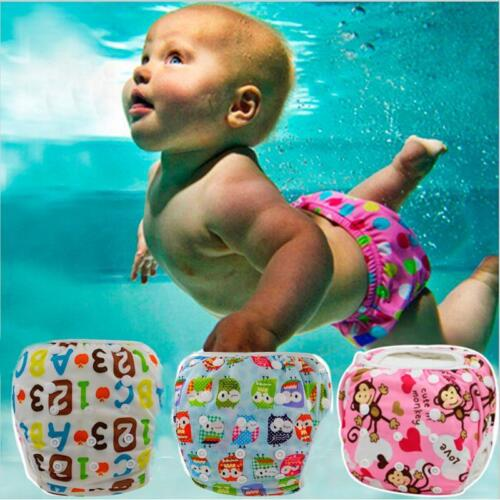 Baby Swim Diaper Waterproof Adjustable Reusable Infant Pool Pant Toddler Nappy