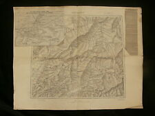 Russo-Japanese War 1904 (April) Map of Mukden - French Publisher - Manchuria
