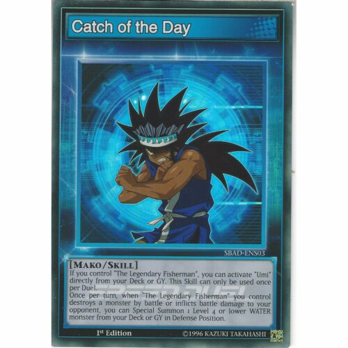 SBAD-ENS03 Speed Duel Super Rare Skill Card 1st Ed Yu-Gi-Oh Catch of the Day