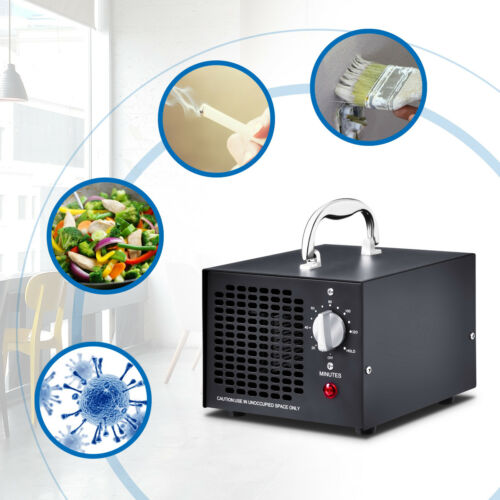Commercial Ozone Generator Industrial Pro Air Purifier Deodorizer 5000mg