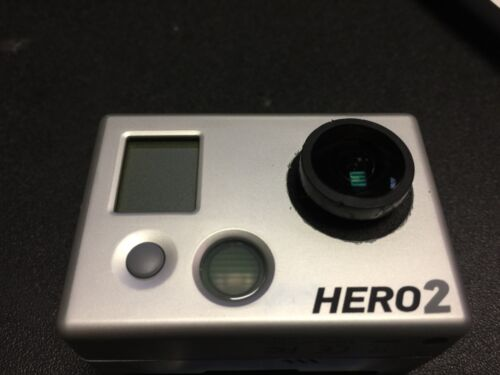 1 of 1 - GOPRO HD HERO2 USED MODIFIED INTERCHANGEABLE THREAD IN LENS MACRO FOCUS ABILITY