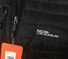 NCIS LA Custom Black Mens Whistler Light Down Jacket XL 100% Authentic TV Show