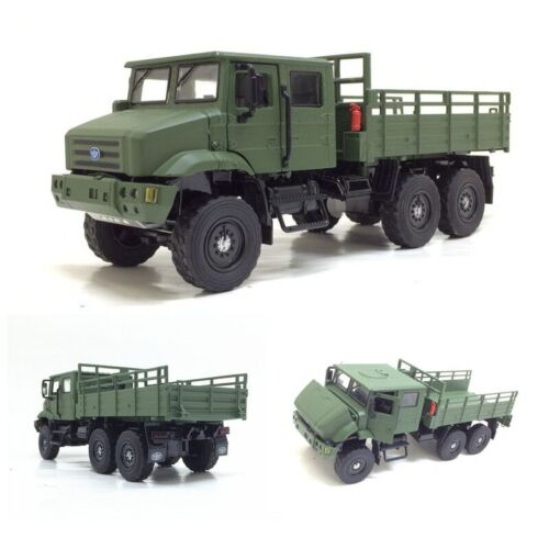 1//36 Scale Diecast MV3 Military Army Truck Battlefield Vehicle Model Toys