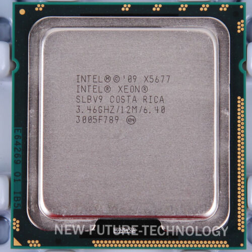 Intel Xeon X5677 3.46 GHz 6.4 GT//s 12M Socket LGA 1366 CPU US free shipping